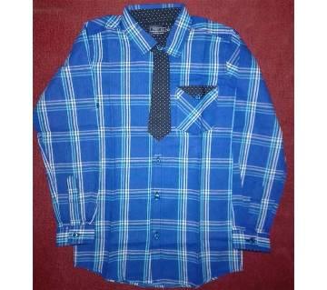 Boys Full Sleeve Cotton Shirt