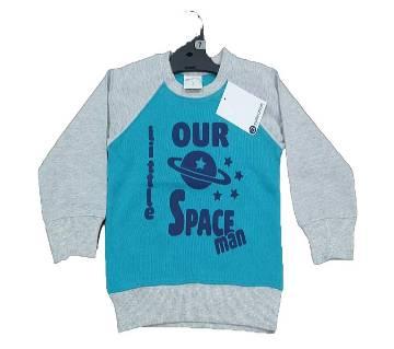 Baby Terry & One Side Brush Sweatshirts