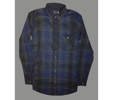Boys Long Sleeve Cotton Shirt