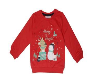 Baby Terry & one side brash Sweatshirt