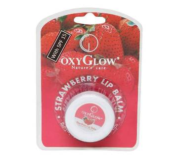 OxyGlow Strawberry Lip Balm
