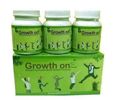 GROWTH ON Herbal Powder