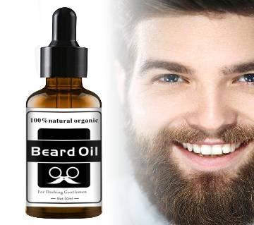 100% Natural Organic Beard Growth Oil For Men 30ml (UK)