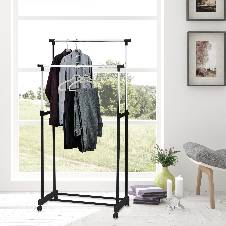 Double Clothes Rack