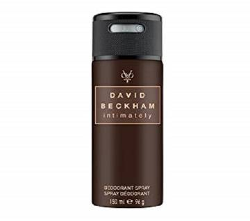 David Beckham Intimately Deodorant Spray 150ml Portugal