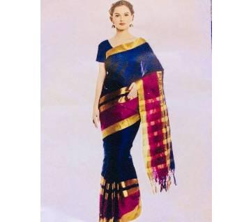 Julahaa ইন্ডিয়ান কাতান শাড়ি