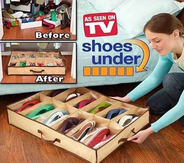 Shoes Under Space- Shoe Organizer