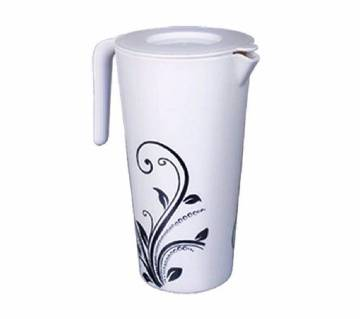 Lovely Smart Jug With Lid-Flowers-1.5ltr