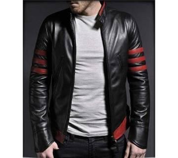 Gents Full Sleeve PU Leather