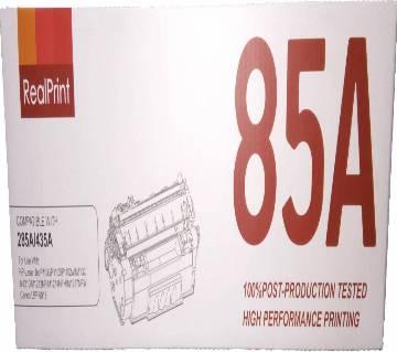Real print 85A BlackLaserjet Toner