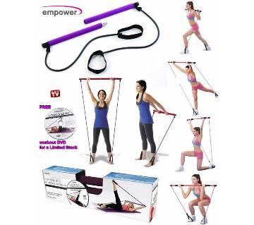 Empower পোর্টেবল Pilates স্টুডিও উইথ DVD