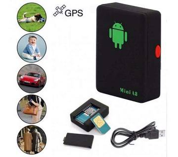 Mini A8 sim device with GPS location tracker