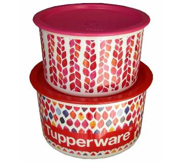 Tupperware petals collection one touch 950ml and 1400ml