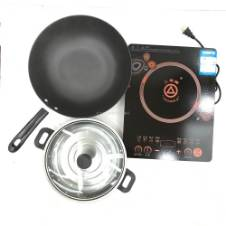 Triangle Induction Cooker - Black