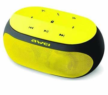 Awei Y200 Wireless Bluetooth Speaker-Yellow
