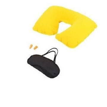 3 in 1 Travel Pillow set - Yellow
