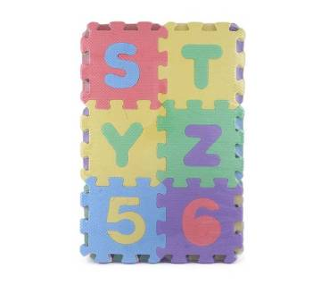 Puzzle Door Mat for Home Decor-Multi Color