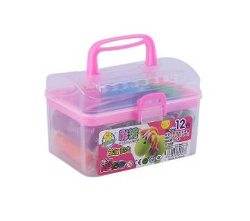 Tiffin Box with Clay Toy - Pink