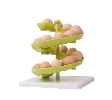 Egg প্লাস্টিক র্যাক - Green