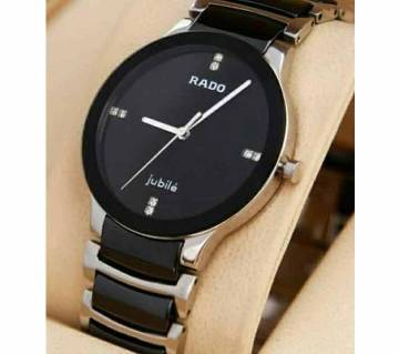 RADO Analog Dial Wrist Watch For Women - Black And Rose Gold