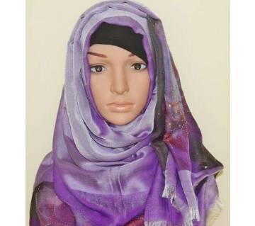 Violet Pusmina Silk Scarf