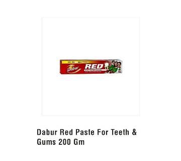 Dabur Red Toothpaste Brush Free 200g