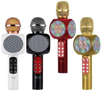 bluetooth karaoke microphone speaker
