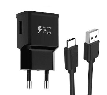 Type C Cable with Fast Charging Adapter