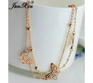 Gold plated Butterfly attach Anklet