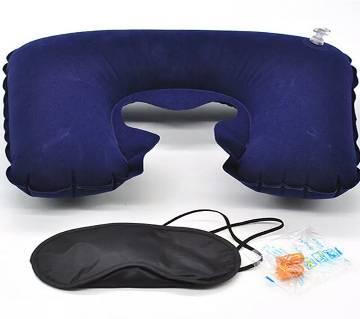 Travel Pillow,Ear pod,Eye mask combo offer