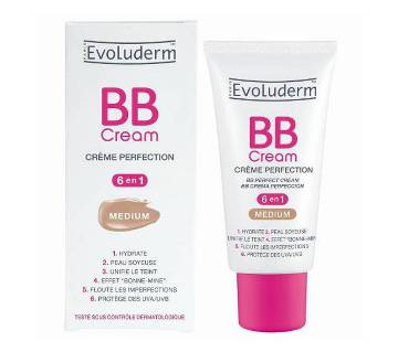 EVOLUDERM PARIS BB ক্রিম মিডিয়াম - 50 ml