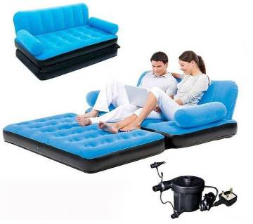 5 In 1 Inflatable Air Sofa Bed & Air