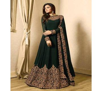 Semi Stitched Soft Georgette Gown - Copy