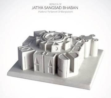 National Parliament miniature replica sculpture
