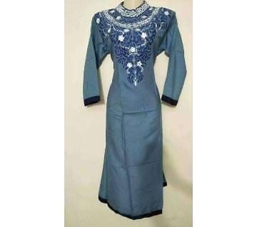 Ladies Stitched Linen Long Kurti