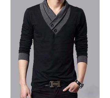 Gents Full Sleeve Round Neck T-Shirt