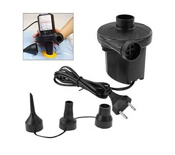 Electric Air Pumper for Inflatable Furniture - Black