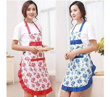 Kitchen Apron for Clean & Smart Cooking-Multicolor