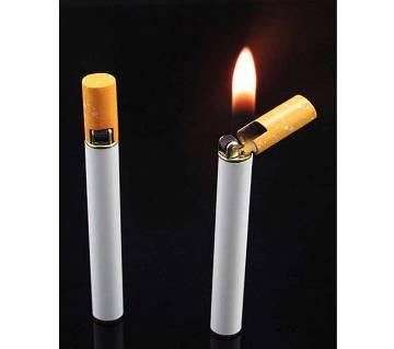 efillable Butane Gas Flint Cigarette Shaped