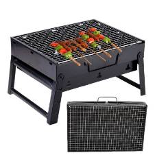 Outdoor Portable BBQ Stove - Black