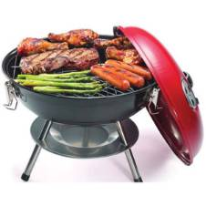 Portable BIg Size Round Head Charcoal BBQ grill Machine