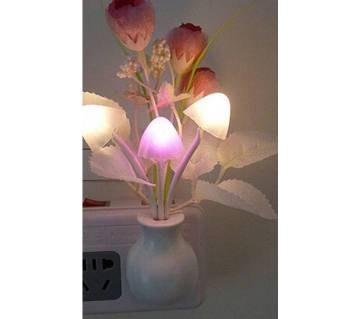 LED Mushroom Night Light - Multi-Color