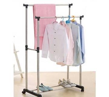 Double Clothes & Shoe Rack