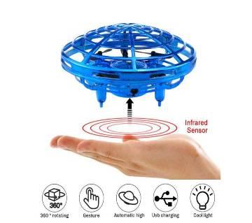 Motion-Sensor UFO Quadcopter Toy