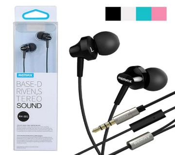 Remax RM 501 In Ear Earphone