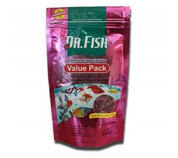 Dr Fish branded Value Pack Fish Food 200 grams Pack