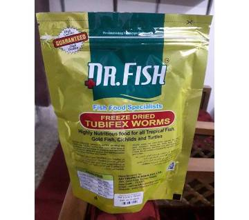 Dr. Fish Tubifex Worms Fish Food 50 grams