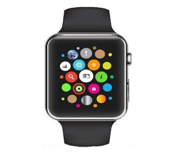 Q7S - GPS Smartwatch - Black sim supported