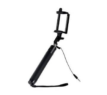 Monopod Selfie Stick - Black