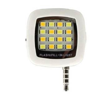 LED selfie flash light